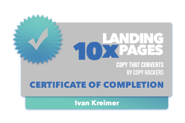 copyhackers certification