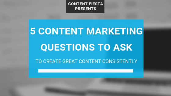 Content Marketing Questions