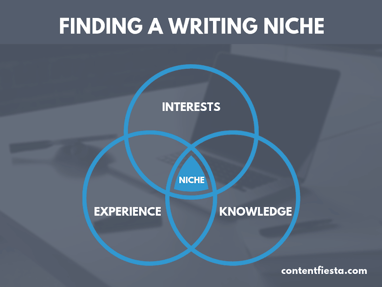 finding a writing niche